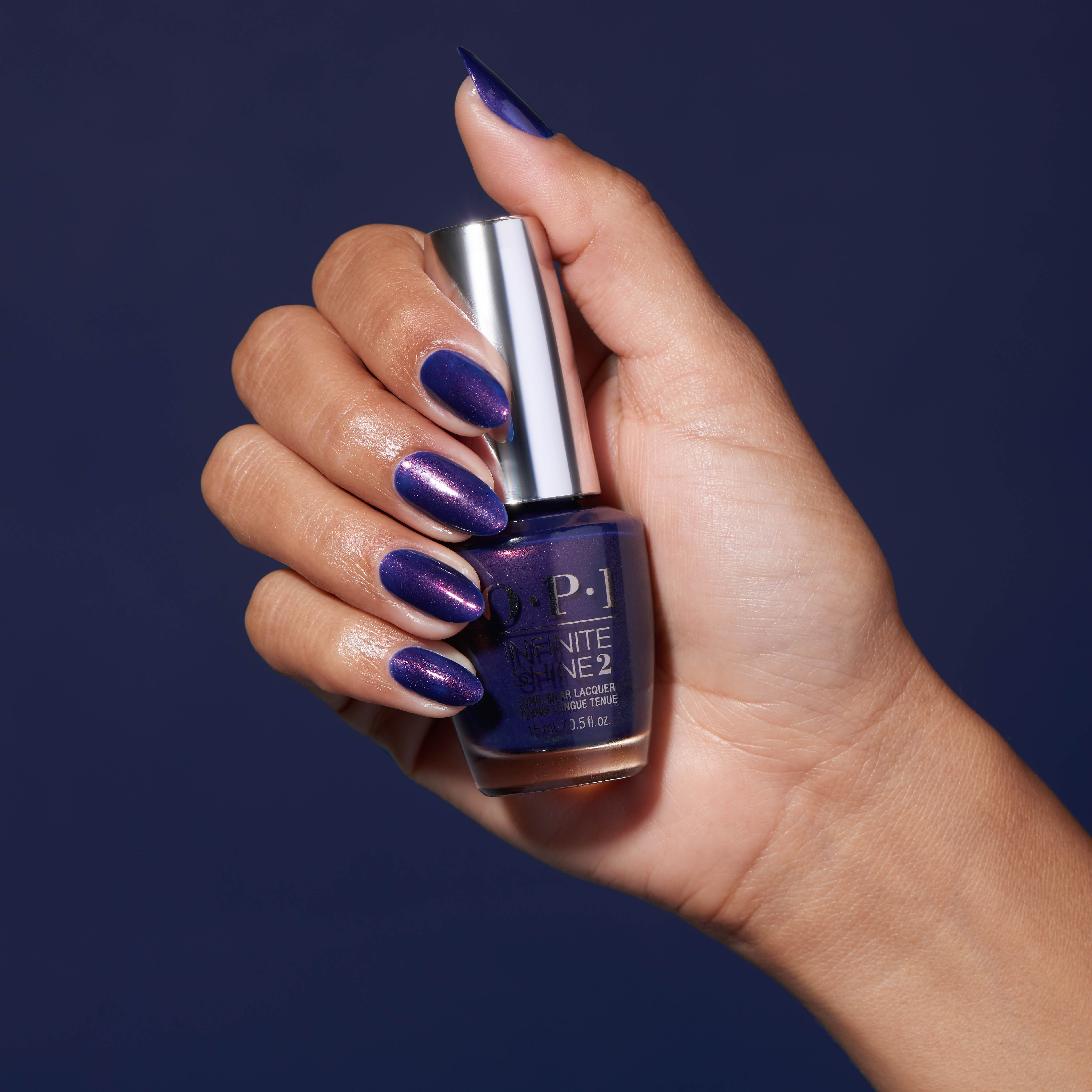 Opi Infinite Shine You Can Count On It Straight From The Midnight Sky This Deep Purple Nail Polish Sets The Stage For An Unforgettable Show Fall Nail Colors Fall Nail Colors 2017 Nail Trends