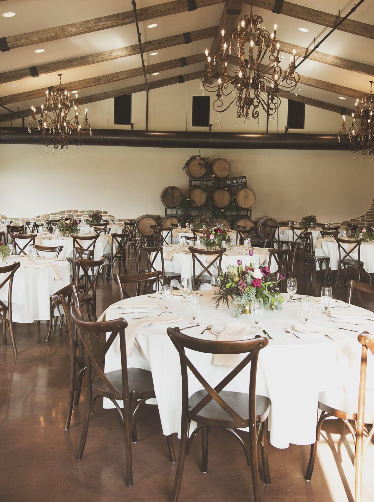 Winery Vineyard Wedding Venue. Rustic, elegant wedding
