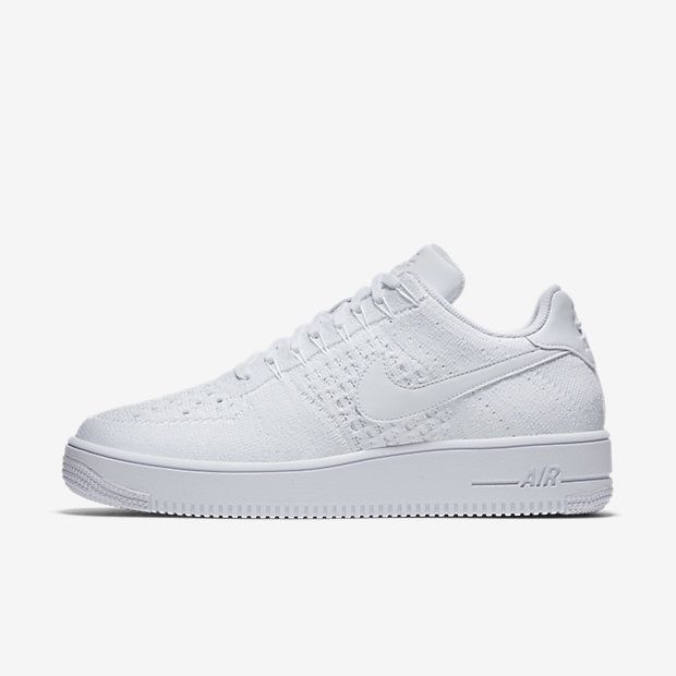 Chaussure Chaussure Chaussure Nike Air Force 1 Pas Cher Homme Flyknit Low Blanc nike 15d29f