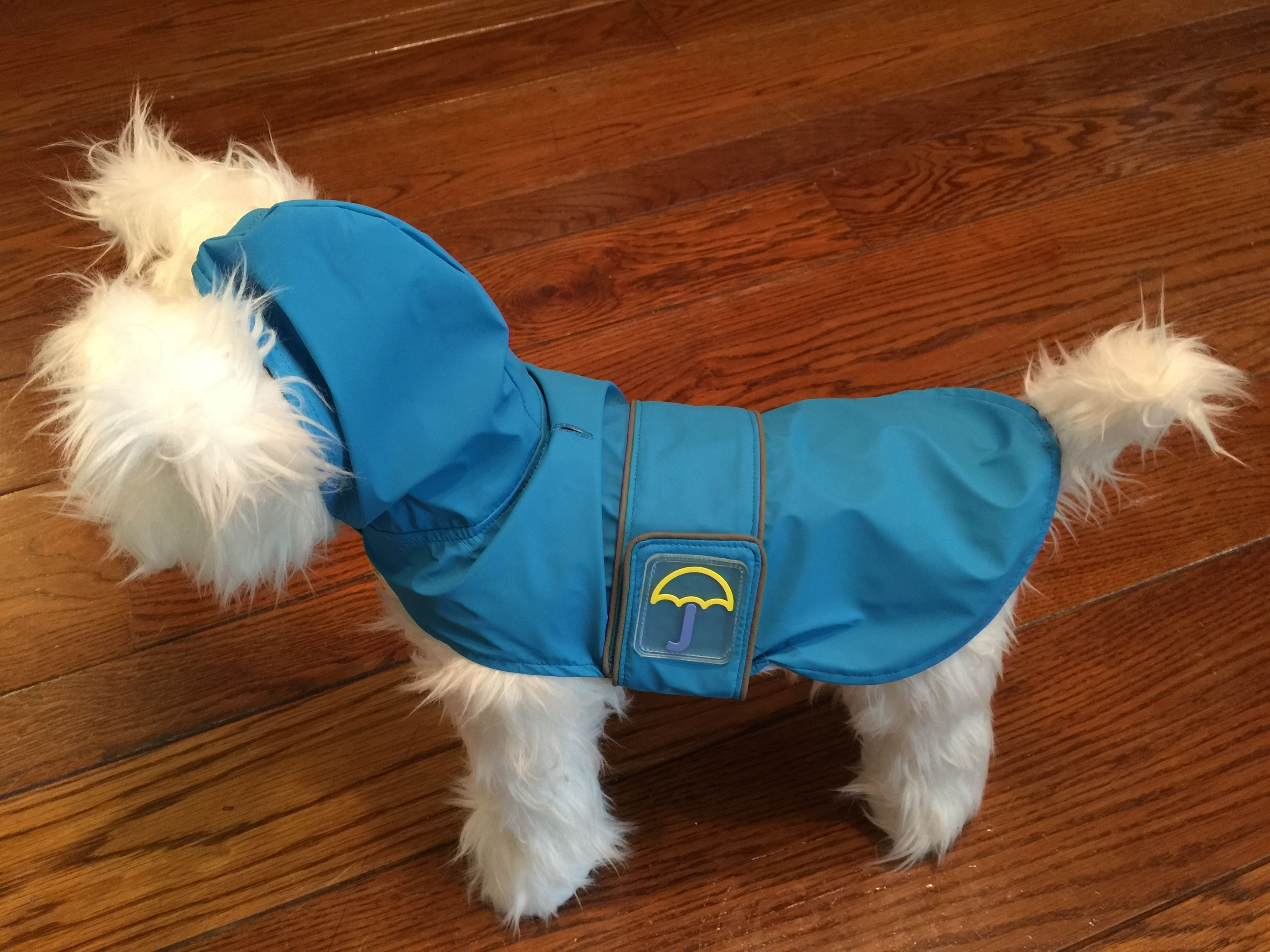 bd907e5b54c1 Klippo Splashing Whale Dog Raincoat | Small Dog Coats | Dog raincoat ...
