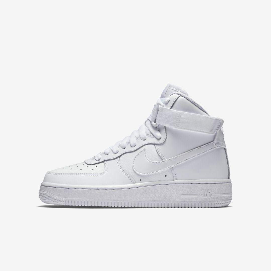 Air Force 1 High Big Kids Shoe In 2020 Nike Air Force High Air