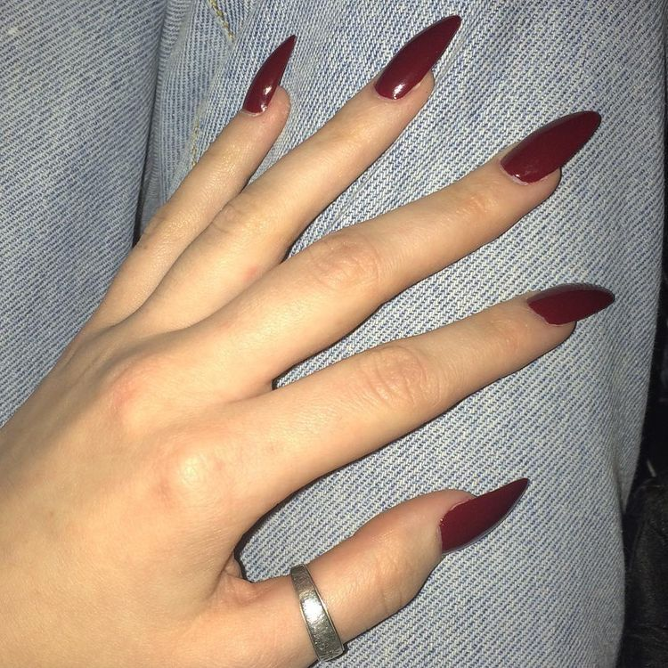 love this shape | oh hunnay so priitty | Pinterest | Shapes, Nail ...