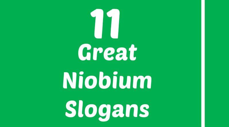 Niobium Slogans Element Slogans Pinterest Slogan, Atomic - new periodic table w atomic number