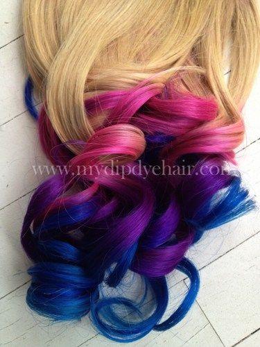 Ombre hairtie dye hairblonde hair extensionspink ombrepurple ombre hairtie dye hairblonde hair extensionspink ombrepurple pmusecretfo Choice Image