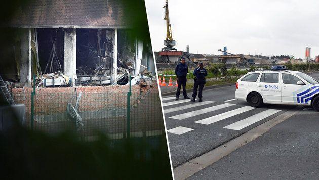 Bombenanschlag Auf Polizeilabor In Brussel Bild Ap Geert Vanden