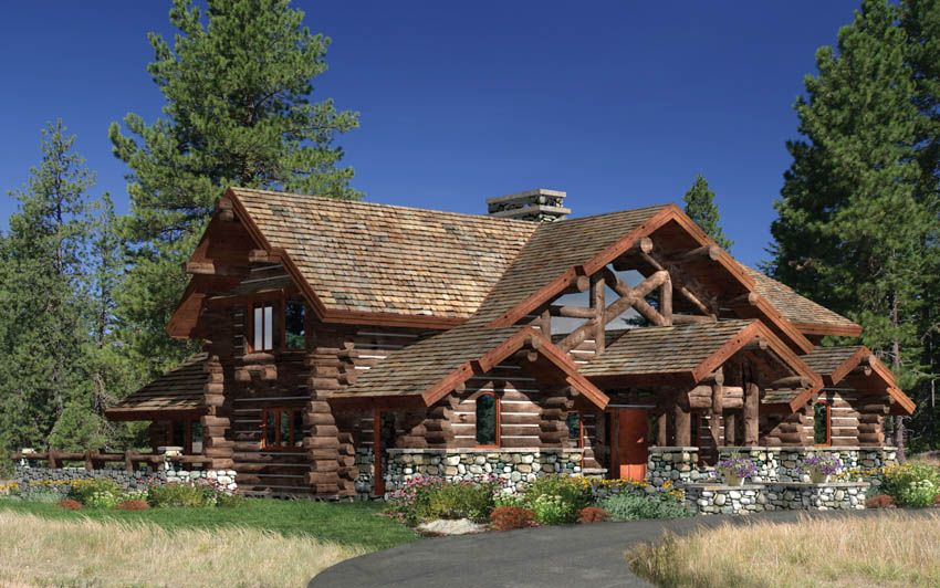 If You Are Looking For Log Home Or Timberframe Home Floor Plan Inspiration Mountain Home Architects Supplies Mo Log Homes Log Home Floor Plans Log Cabin Homes