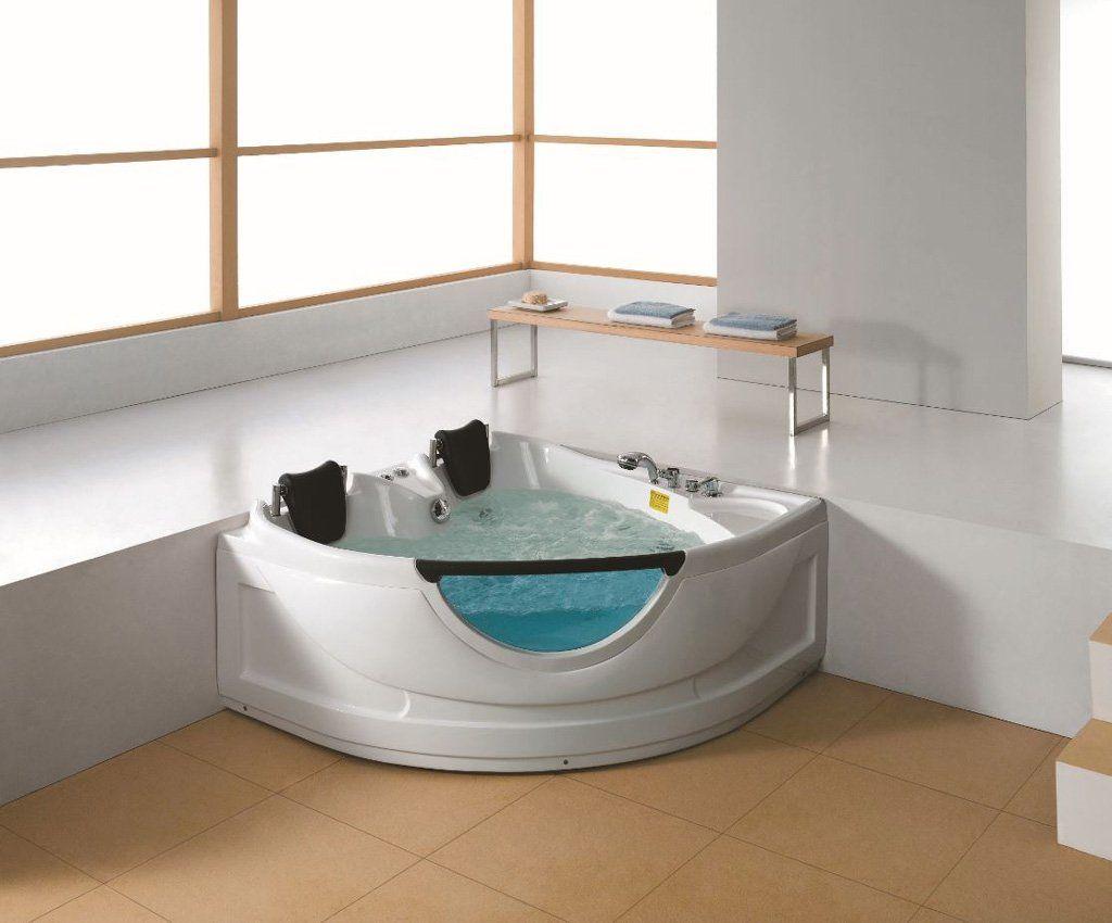 2 Person Corner Hydrotherapy Whirlpool Bathtub Spa Massage Therapy Hot Bath Tub Sym150150a 2personairjettub Whirlpool Bathtub Jetted Bath Tubs Whirlpool Tub