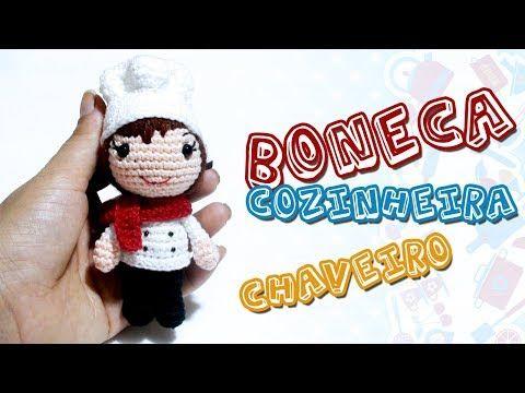 Boneca em amigurumi Maria Luisa croche com Simoni Figueiredo - YouTube | 360x480