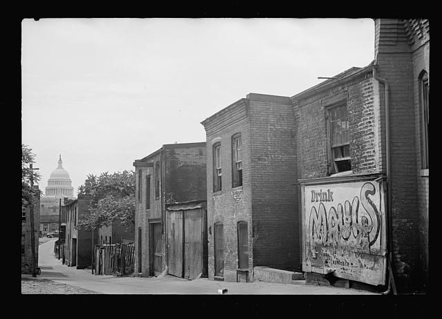 Untitled photo, possibly related to: Slums near the Capitol