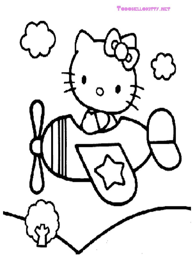 Hello-Kitty-Coloring-Pages