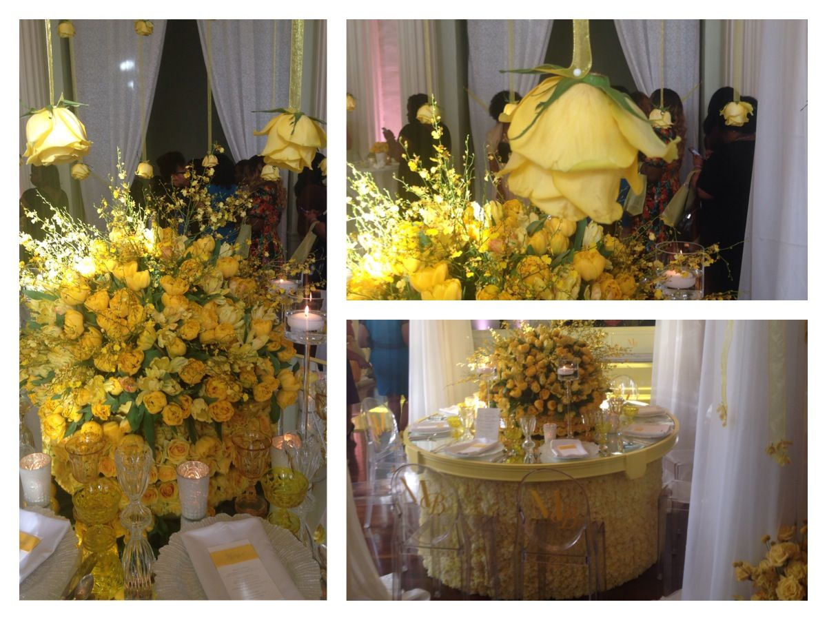 Munaluchi.......@awbeach put together this beautiful center piece......I love it totally.....#atlanteventplanner