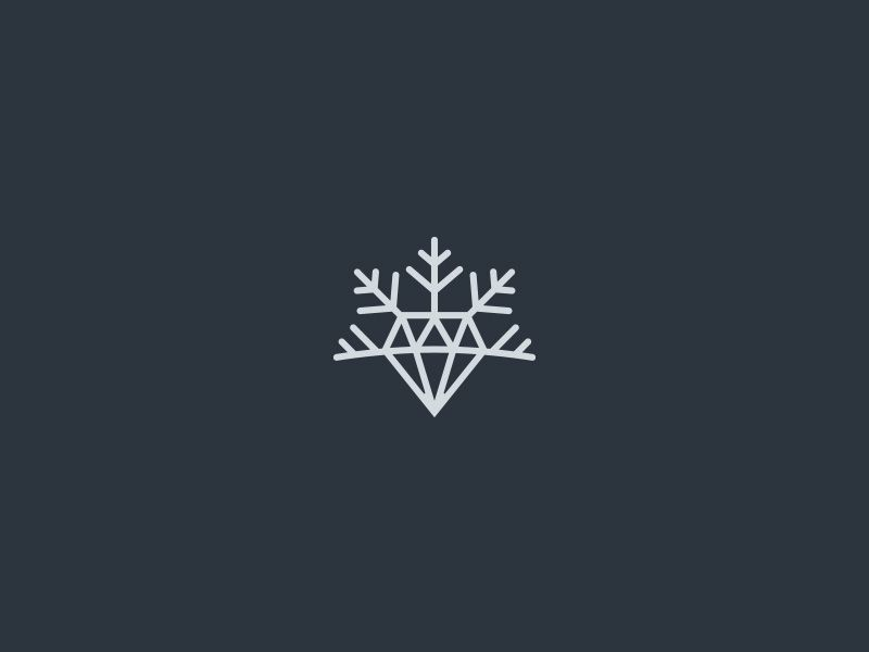 Logos 2015 On Behance With Images Diamond Graphic Line Art