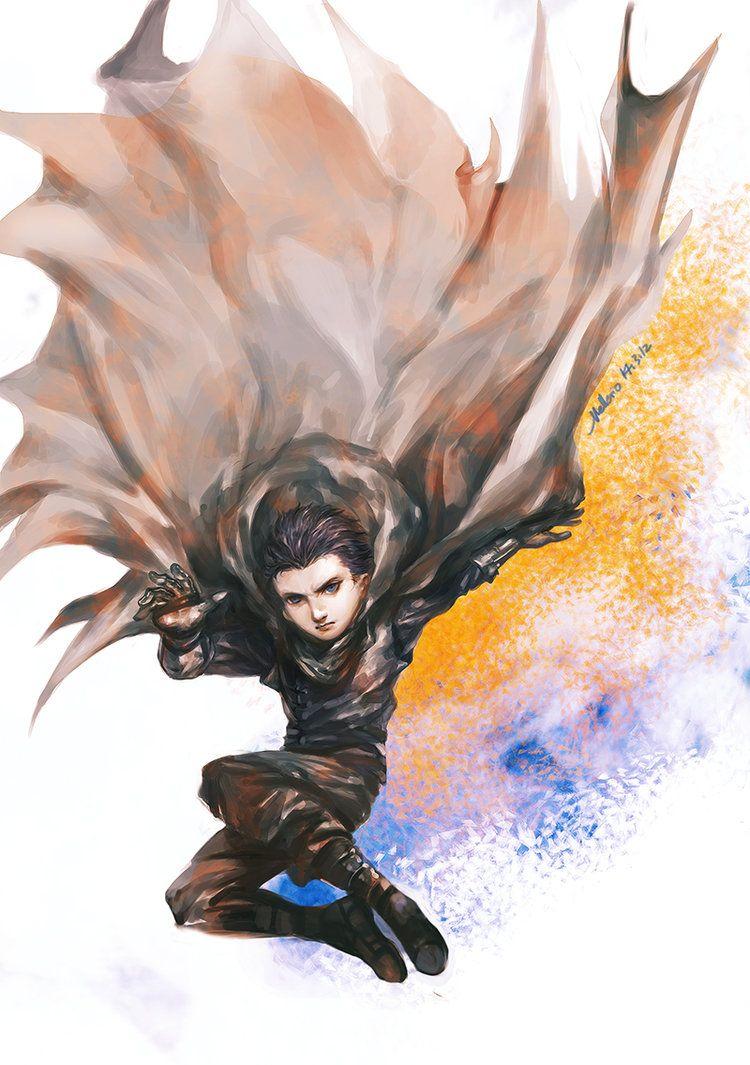 Ninja (Damian Wayne) by MELLORIA358 on DeviantArt   Damian Wayne