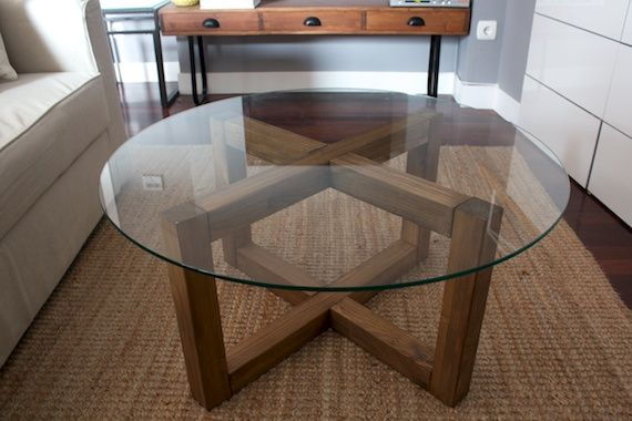 habitat inspired diy coffee table new house ideas Pinterest