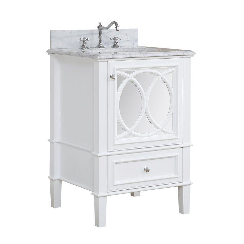 Olivia 24 Single Bathroom Vanity Set