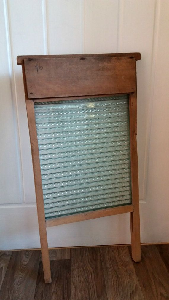 vintage washboard  old washboard  antique by GingerCatUpholstery