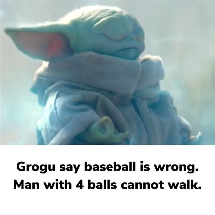 Pin By Jason Campbell On Memes For Baby Yoda Yoda Meme Punching People Funny Memes