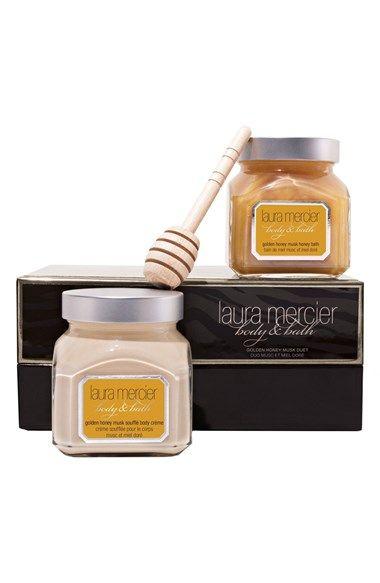 Laura Mercier 'Golden Honey Musk' Body & Bath Duet (Limited Edition) ($53 Value) available at #Nordstrom