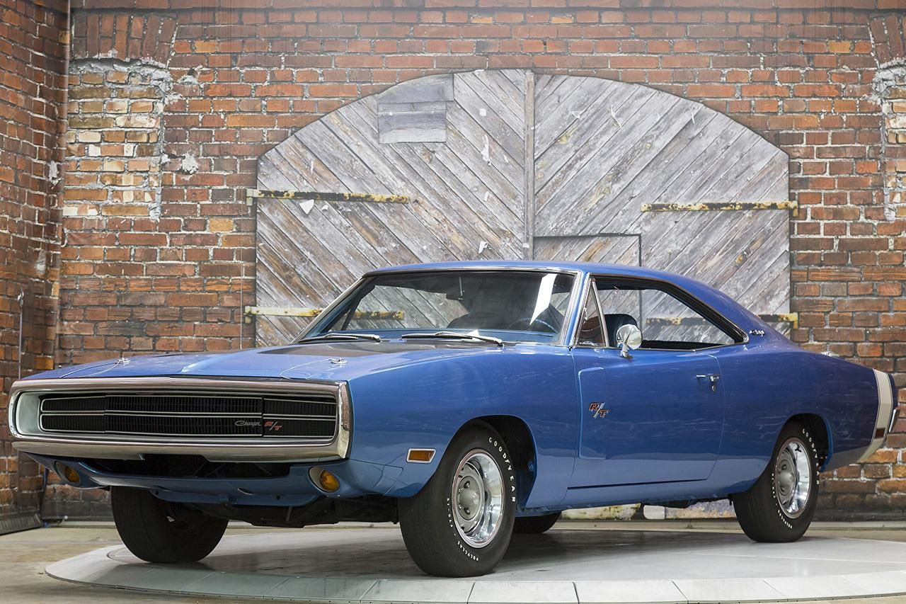 1970 Dodge Charger R T 440 Six Pack Super Track Pak 4 Speed Pistol