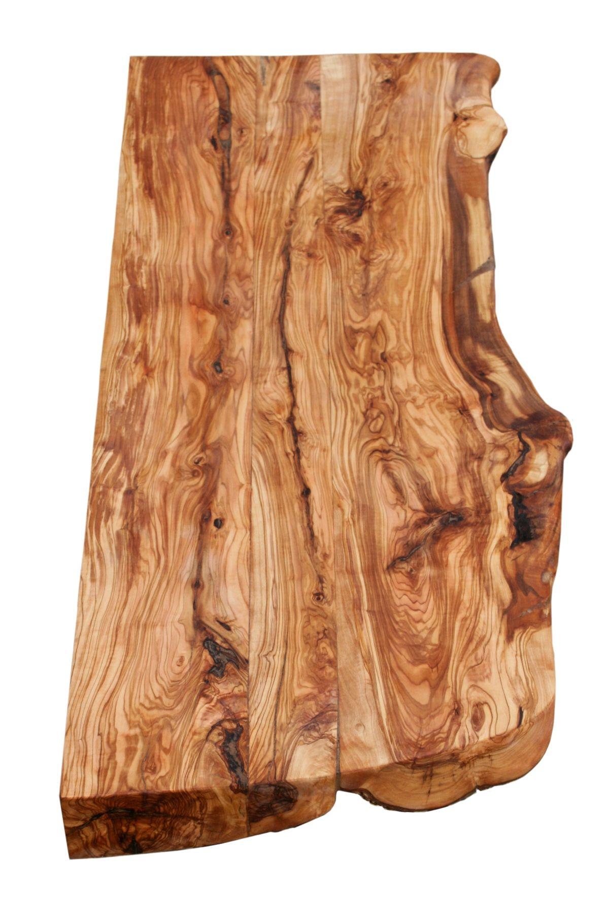 encimera de madera de olivo rstica - Madera Rustica