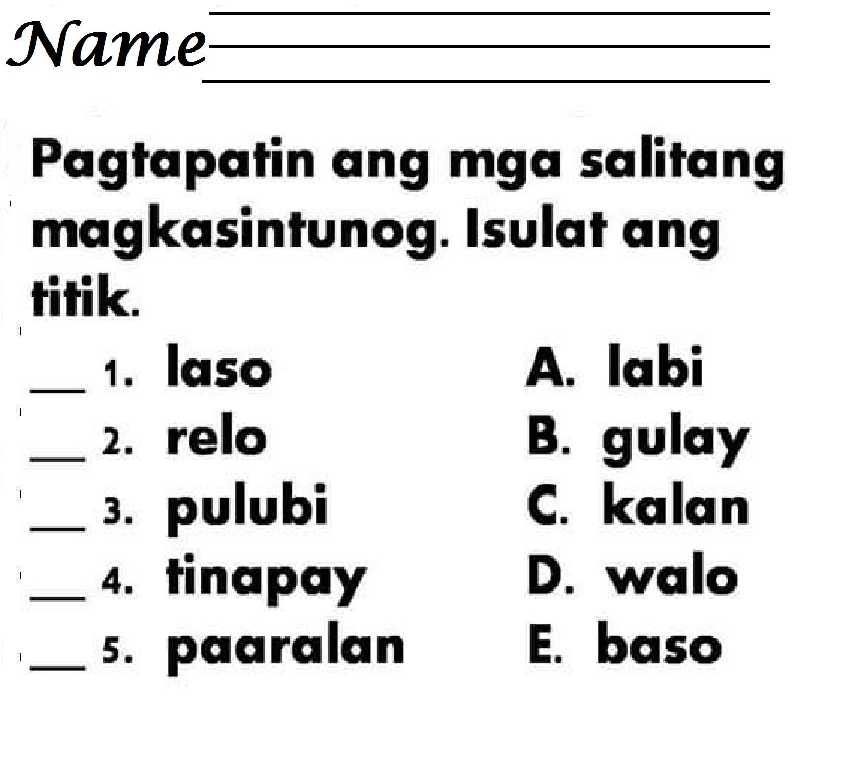 hight resolution of 12 Mother Tongue Basic (Tagalog) ideas   tagalog