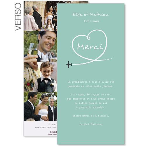 1000 images about cartes de remerciements mariage on pinterest belle wedding and wedding thank you postcards - Photo Remerciement Mariage