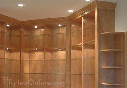 Display Cabinet Low Voltage Lighting