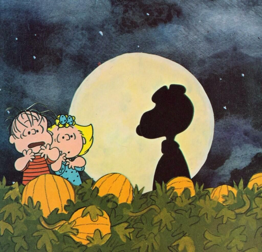 Its The Great Pumpkin Charlie Brown Happy HalloweenSnoopy