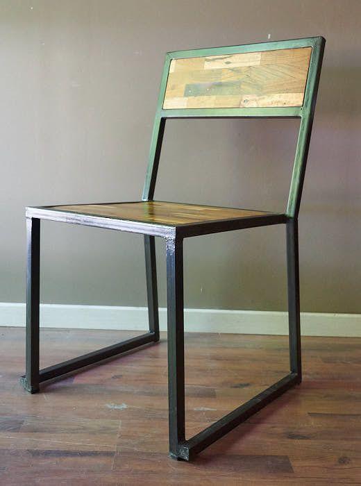 Risultati immagini per sedie stile industriale | sedie | Pinterest