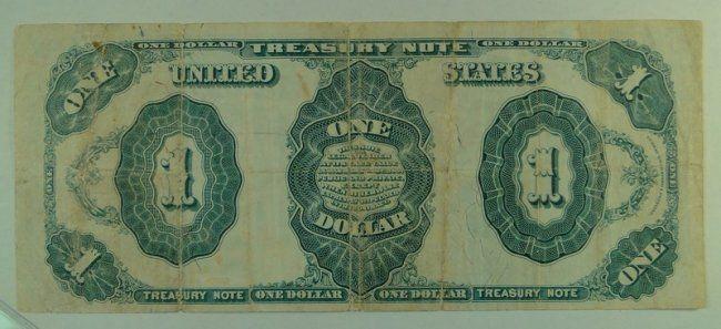 US Bill 1891 $1 Treasury (Stanton) Note