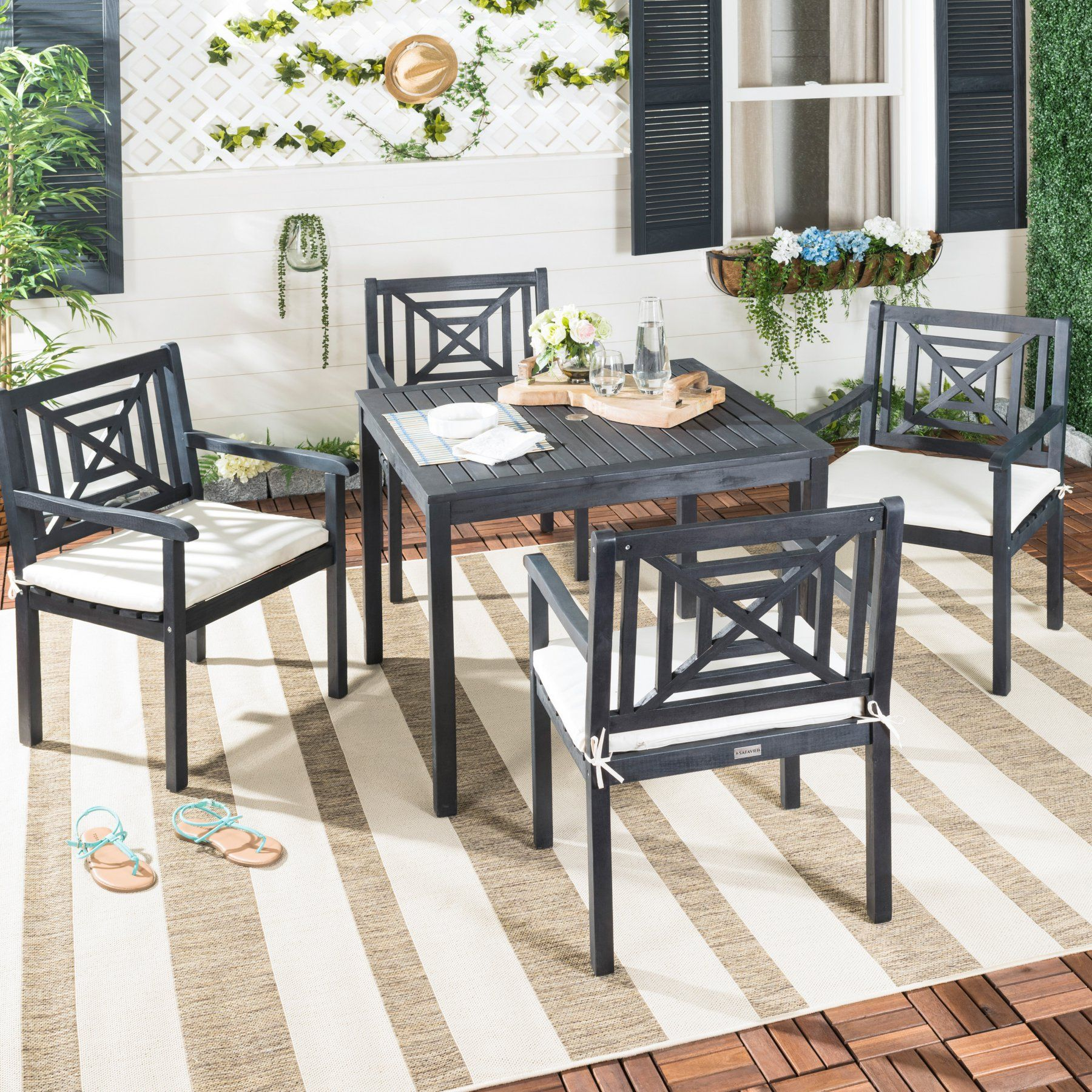 Outdoor Safavieh Del Mar Patio Dining Table Set  Pat6722K