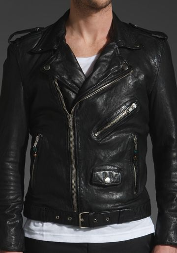 02253ad307 BLK DNM Motorcycle Leather Jacket 5