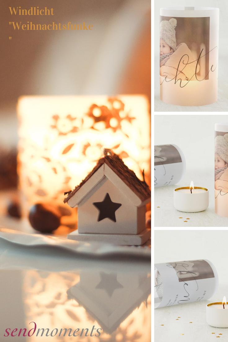 Hochwertige Weihnachtskarten.Weihnachtsfunke Windlicht Als Karte 209x99 Weiß Weihnachten