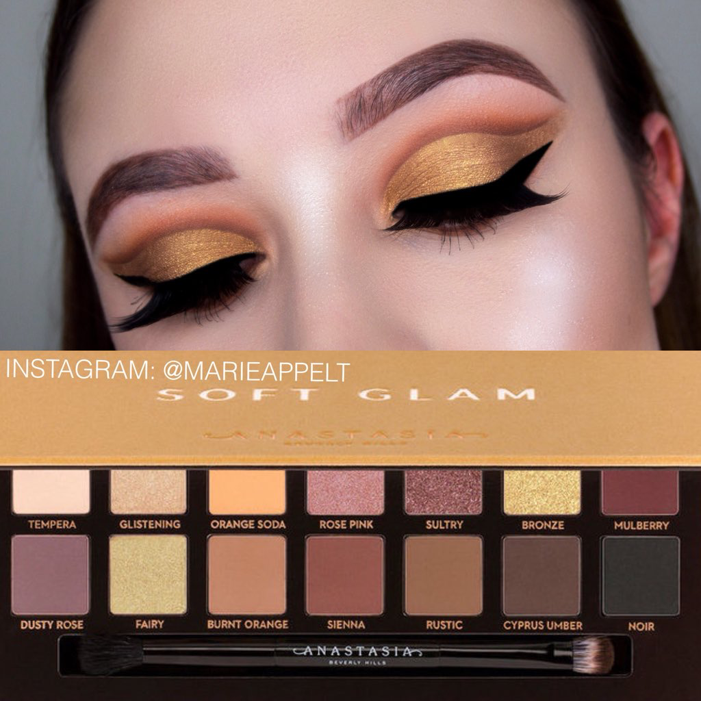 Anastasia Beverly Hills Soft Glam Palette Makeup Tutorial
