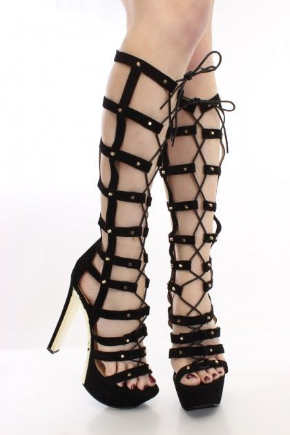 1000  images about High Heel Boots on Pinterest | Sexy, Knee high ...