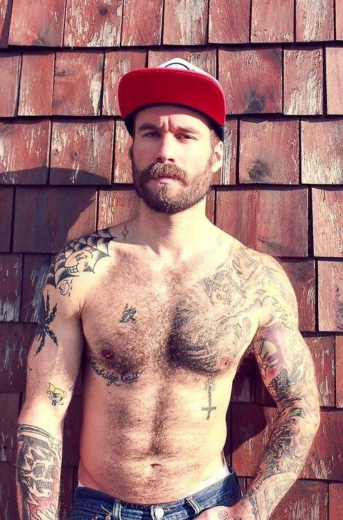 Bearded Men, Beard No Mustache, Beard