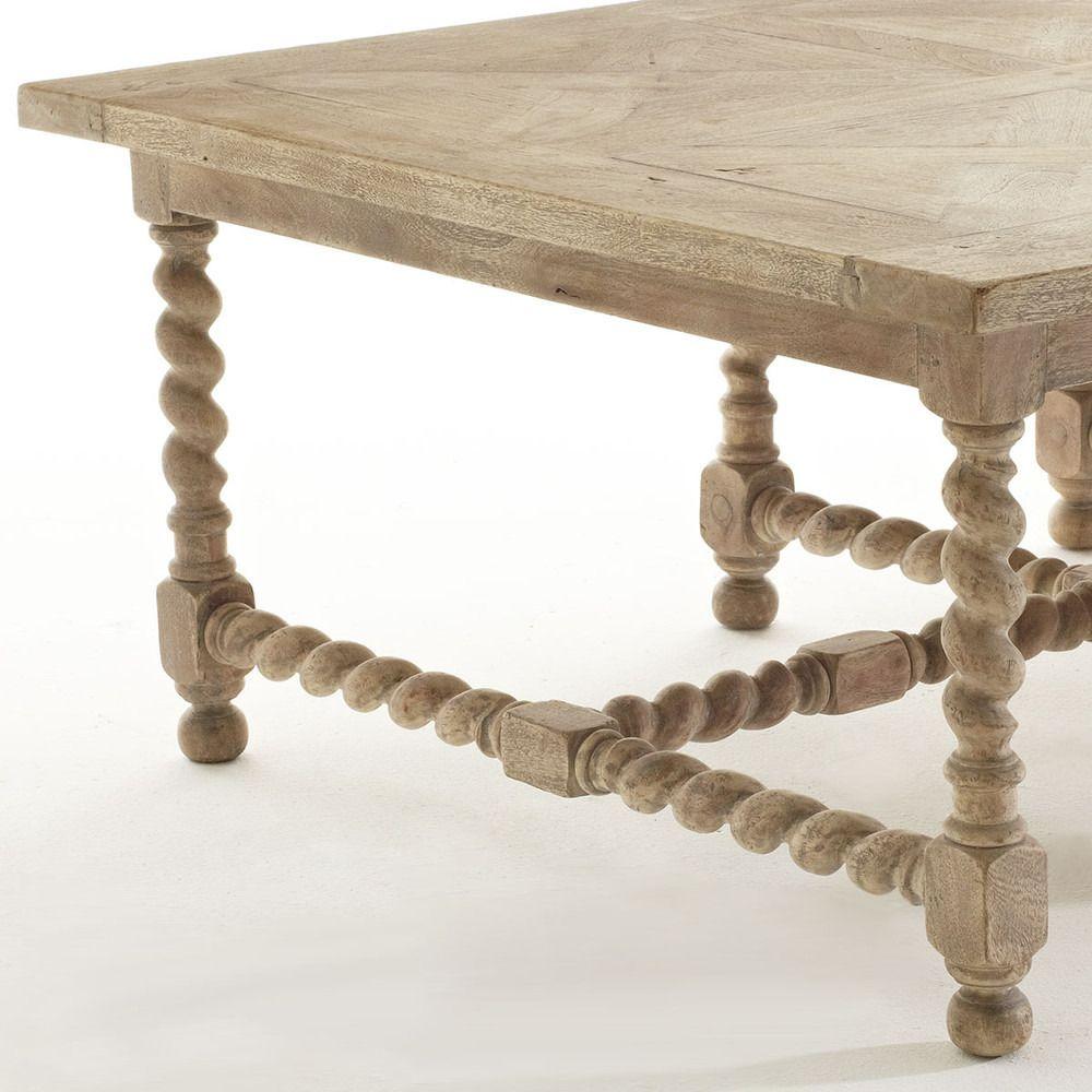 Domino Barley Twist Coffee Table Living Room Coffee Table Coffee Table French Coffee Table [ 1000 x 1000 Pixel ]