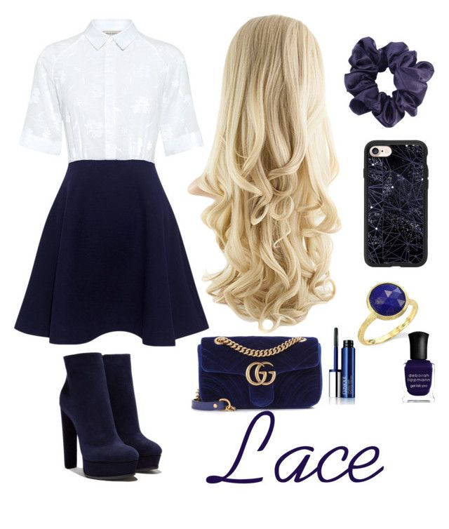 Veronica Sawyer // Lace | Marco bicego, Paul joe and Deborah lippmann