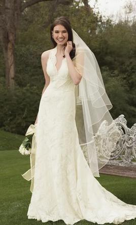 Used Watters Wedding Dress 1048B Size 8