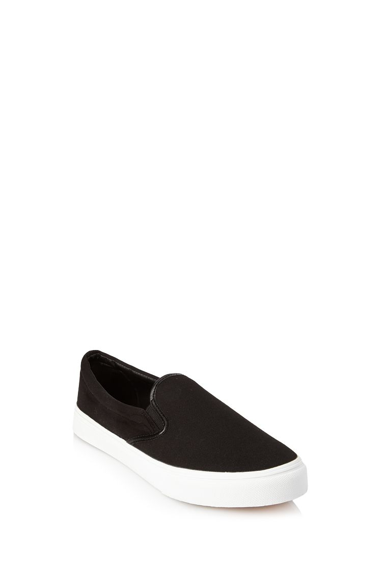 Canvas Slip-Ons | FOREVER21 - 2000124447