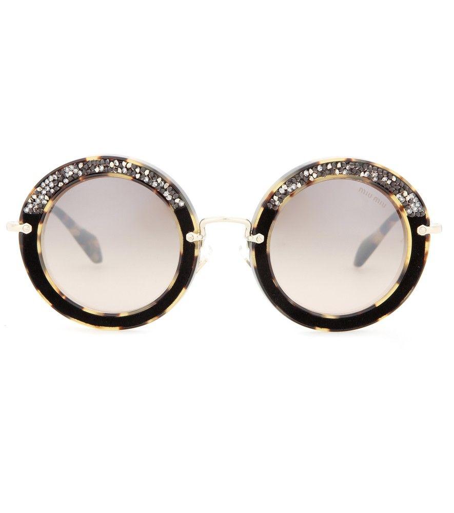 Miu Miu -  sunglasses in love seen @ www.mytheresa.com