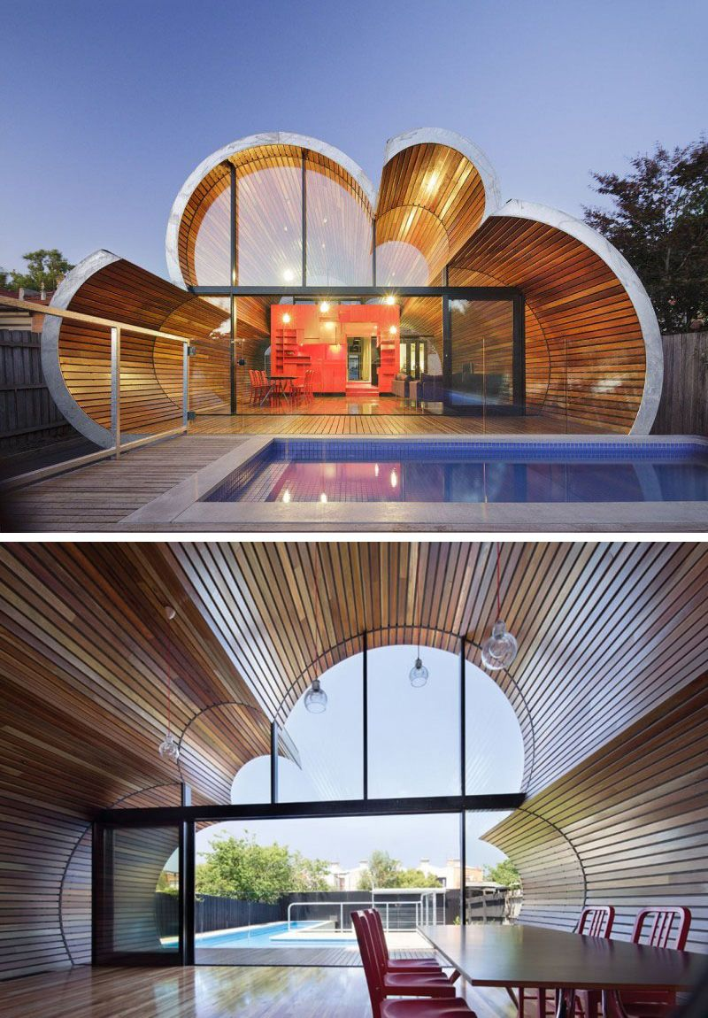 Architecture Modern Architecture Facade House: 12 Uniquely Shaped Windows From Around The World