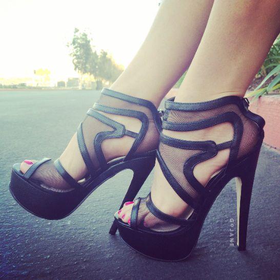 36585b5fb907 Swirly Girl Strappy Mesh Platforms Beautiful Shoes