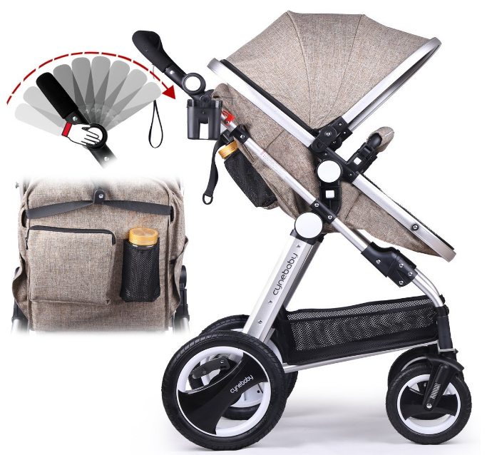 Product Cynebaby Newborn Baby Stroller Type Luxury Convertible Pram Rating 4 6 Out Of 5 Stars Best Place To Price 279