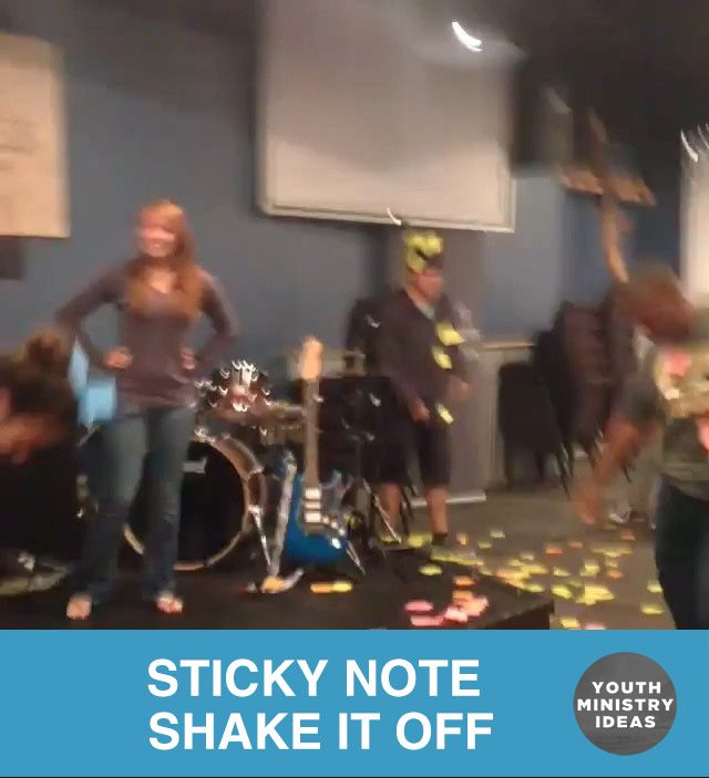 STICKY NOTE SHAKE IT OFF by @relentless_dscc  Love it  Youth