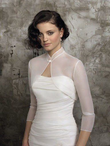 Wedding Bolero Jacket Bridal Wrap