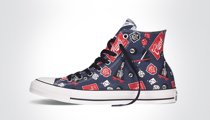 3079279a772a66 converse Converse Blue High Tops Chuck Taylor All Star Womens Shoes ...