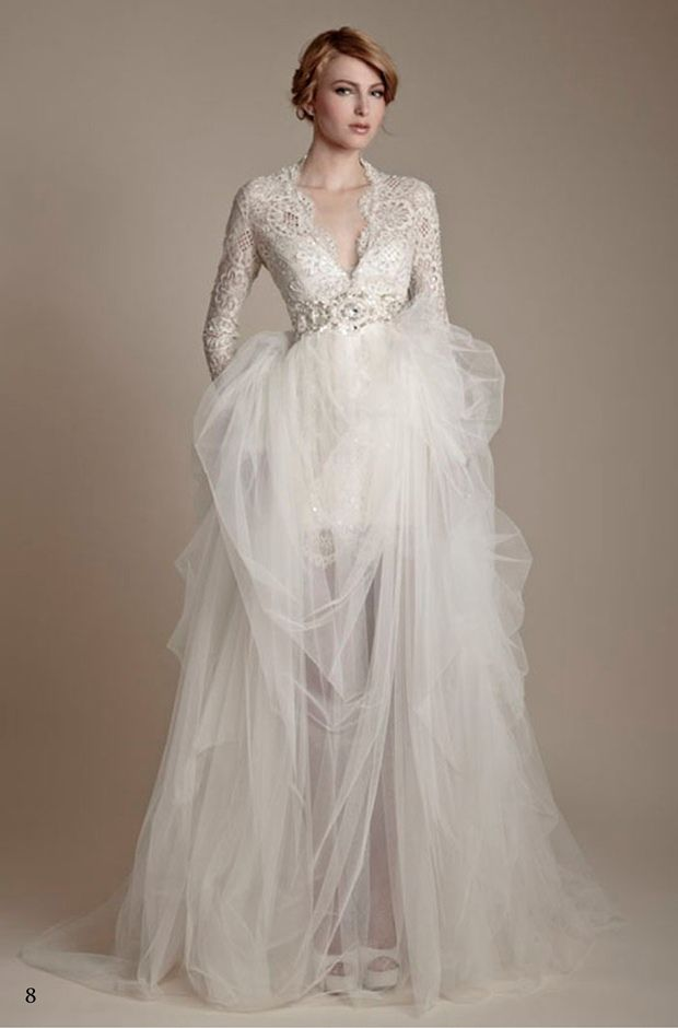 25 Wedding Dresses With Sleeves Ideas