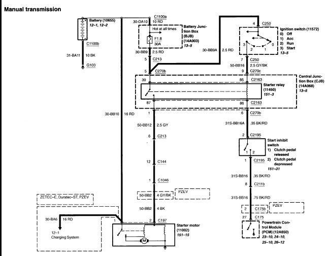 Sample Image Ford Alternator Wiring Diagram Ford ...