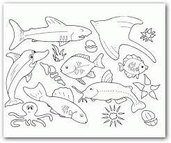 Resultado De Imagen Para Paisajes Marinos Para Dibujar Paginas Para Colorear De Animales Maquetas De Ecosistemas Mar Para Colorear